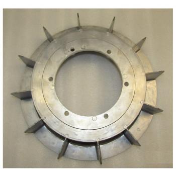 Крыльчатка генератора SA-60;70/Aluminum fan for 60KW
