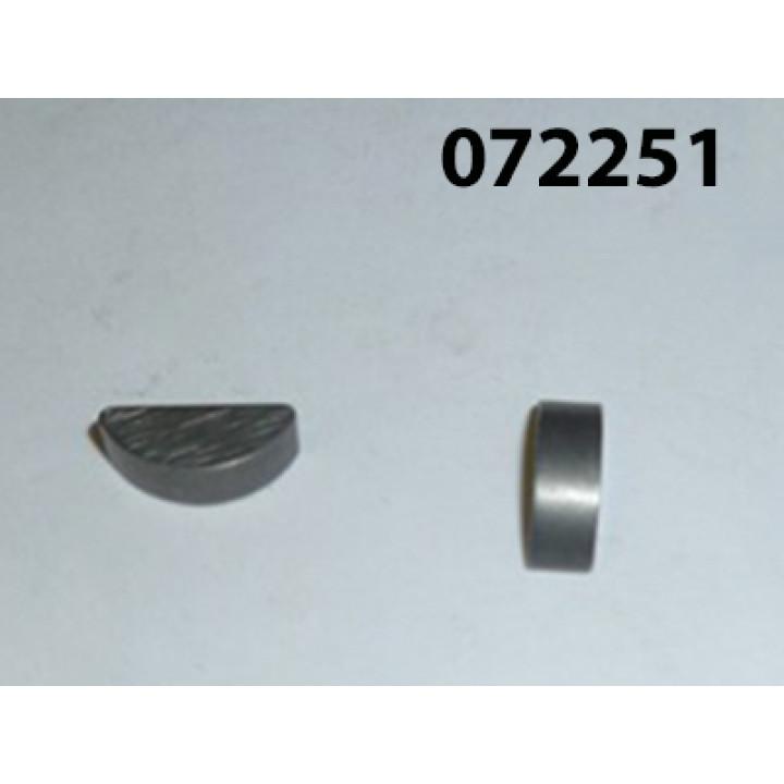 Шпонка сегментная вала коленчатого KM376AG/Key