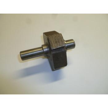 Вал вибратора (L=90 мм) с противовесом виброрейки / (SHAFT Assy&Counter weight,М128100004- М128100003)
