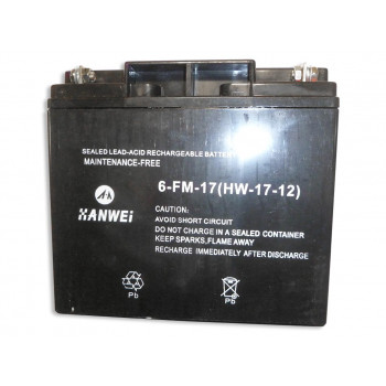 Аккумулятор SGG7500 ( 6-FM-17,12V,17AH )/Battery