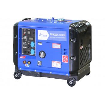 Дизельный сварочный генератор в кожухе TSS PRO DGW 3.0/250ES-R