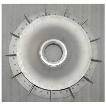 Крыльчатка генератора SA-200/Cooling fan for 200KW