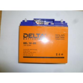 Аккумулятор SDG 5000Е (12V, 20Ah) (181х77х167 мм)